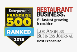 Menchie's #1 Ranked Franchise by Entrepreneur Magazine
