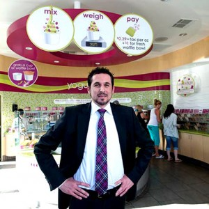 Menchie's CEO Amit Kleinberger