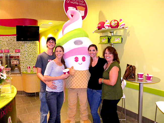 The Menchie's Family Experience