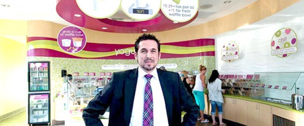 Menchie's CEO, Amit Kleinberger