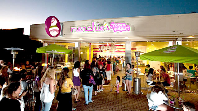 menchie's franchise cost