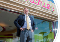 Alan Sims was recently inspired to donate the proceeds from one of his Menchie's stores to Open Doors Tennessee, a nonprofit that improves the lives of young people with disabilities.