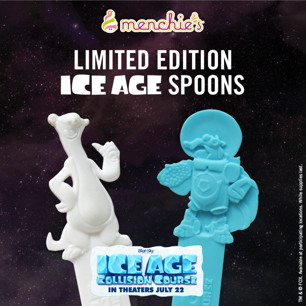 Ice Age Collectible Spoons