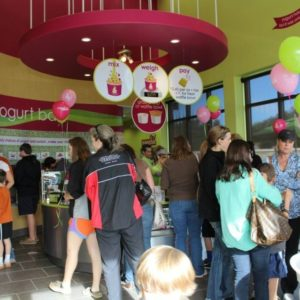 Inside Menchie's